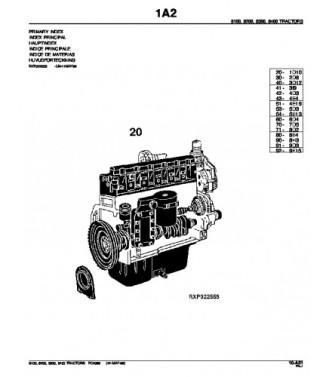 PDF JOHN DEERE 8100 8200 8300 8400 TRACTOR PARTS CATALOG
